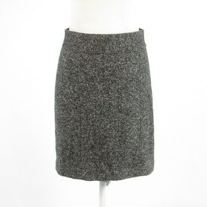 Banana Republic gray wool blend pencil skirt 4